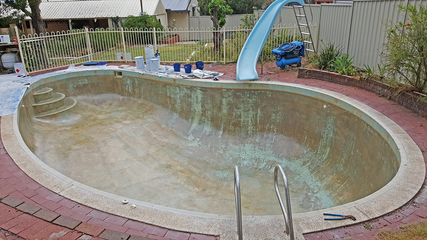 Before And After Swimming Pool Services In Perth Pools 101